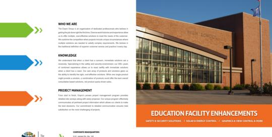 School District Brochure