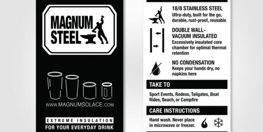 Magnum Steel Insert Cards